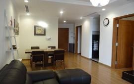 Gia đình tôi chuyển vào Sài Gòn nên cần cho thuê gấp căn hộ 85m2 nóng lạnh, sàn gỗ, giá 10 tr/th