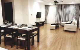 Cho thuê CH Golden Land, tầng 18, 145m2, căn góc 3 phòng ngủ thoáng, nội thất đẹp 14 tr/tháng Lh 0918 441 990