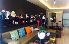 Cho thuê CH MIPEC Tây Sơn, căn góc tòa B, 105 m2, 2 phòng ngủ sáng, đủ nội thất 13 triệu/tháng