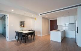 Cho thuê căn hộ chung cư Ngọc Khánh Plaza, 161m2, 3 phòng ngủ full nội thất, giá 22tr/th