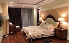 Cho thuê căn hộ Dolphin Plaza 28 Trần Bình, 4 phòng ngủ, căn góc, view bể bơi, tiện nghi