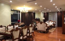 (0967.069.366) cho thuê căn hộ Golden Palace, quận Nam Từ Liêm, 4 phòng ngủ, căn góc, full đồ