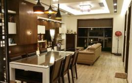 Cho thuê căn hộ Vinhomes Gardenia, đường Hàm Nghi, căn góc, 3 ngủ sáng, 119m2, view bể bơi