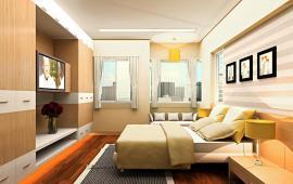 Cho thuê căn hộ dịch vụ khu vực Đống Đa, 45m2, 1PN, đủ đồ, giá 10.5tr/th