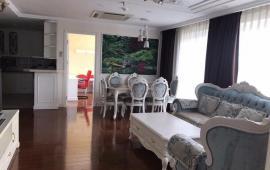 Cho thuê CHCC Royal City tầng 20, 2PN, đủ nội thất 125m2, view đẹp, giá 17 tr/th