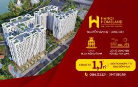 Chính thức mở bán 200 căn đẹp nhất dự án Hà Nội Homeland trực tiếp chủ đầu tư. LH: 0947550954