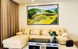 Cho thuê căn hộ CH Golen Palm 3 phong ngủ, tầng 18, 128m2, căn góc, 14 tr/th, LH 0976 988 829
