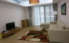 Cho thuê CH NGọc Khánh Plaza, tầng cao, 2 phòng ngủ, 111m2, đủ nội thất 16tr/tháng