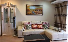 Cho thuê căn hộ chung cư M3- M4 Nguyễn Chí Thanh, 120m2, 3PN, đồ cơ bản, giá 13 tr/th, 0989862204