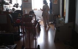 Cho thuê chung cư Intracom Trung Văn, 3PN, nội thất cơ bản, giá 8tr/th