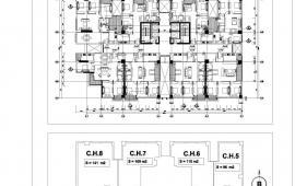 Cho thuê căn hộ tòa N01T2 Ngoại Giao Đoàn
