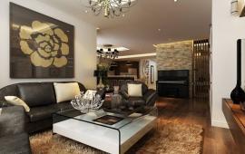 Cho thuê căn hộ 102 Thái Thịnh, 114 m2, 2 phòng ngủ, đầy đủ đồ, giá 17 triệu/tháng