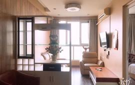 Căn hộ dịch vụ cao cấp tại phố Trấn Vũ cho thuê thiết kế duplex 2 PN, full nội thất, DT 100m2