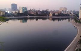 Siêu thoáng, Siêu mát,  nhà mặt Hồ Rùa, Thanh Xuân, 48m2, 5 tầng, 7.9 tỷ, kinh doanh, ở, văn phòng.
