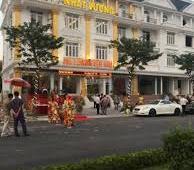 Cho thuê Shophouse Thành Phố Giao Lưu mặt đường 40m 128m x5t1h mt 8m hoàn thiện thang máy điều hòa