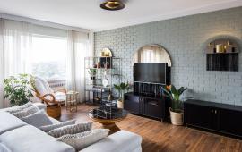 Cho thuê căn hộ đủ đồ gần tòa C7 Giảng Võ, 2PN - 2WC, diện tích 70m2, 13 triệu/tháng