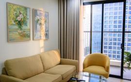Cho thuê căn 78m2, 2 PN, nội thất siêu đẹp ở tòa Golden Field giá 11tr/ tháng.