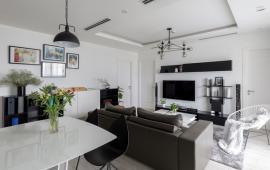 Chính chủ cho thuê căn hộ tại Golden Palm 98m , 2PN đủ đồ, 14tr/th- Lh : 0968045180