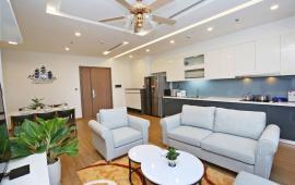 Cho thuê CHCC Aqua Central 44 Yên Phụ, 120m2, 3PN full đồ giá đẹp 25tr/tháng,