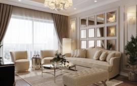 Cho thuê gấp căn hộ chung cư cao cấp Riverside Garden - 349 Vũ Tông Phan 3 ngủ đủ đồ 12tr, Lh 0829906762