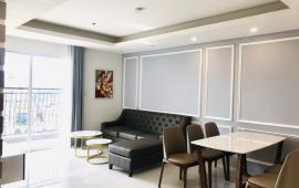 Cho Thuê căn Hộ Aqua Central Số 44 Yên Phụ DT120m2, 3 ngủ Full đồ giá 24tr/tháng LH 0969866063