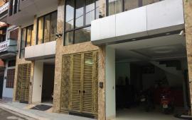 Bán nhà 7 tầng xây mới B11 ngõ 2 Trần Cung, có thang máy, 40m2, mặt tiền 6,5m, hướng Đông