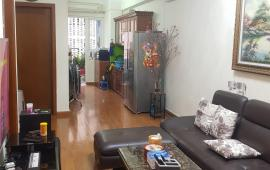 cho thuê căn hộ chung cư 187 Tây sơn, 67m2, 2 PN, đồ cơ bản 9,5 triệu/th