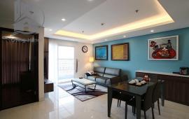 Cho thuê CHCC Aqua Central 44 Yên Phụ, 120m2, 3PN full đồ giá đẹp 25tr/tháng, LH: 0967566993.