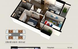 Chính chủ cần bán chung cư Thăng Long Capital - căn 2802-T4 gần Vinhome Smart City; liên hệ: