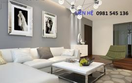 Cho thuê CHCC 249A Thụy Khuê, Tây Hồ, 145m2, 2PN, nội thất rất đẹp, 17 triệu/th, LH 0981545136