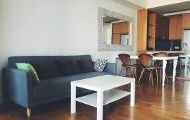 Cho thuê CHCC Indochina plaza 241 Xuân Thủy, DT 96m2, 2 PN,đã đầy đủ nội thất, giá 18 tr/th